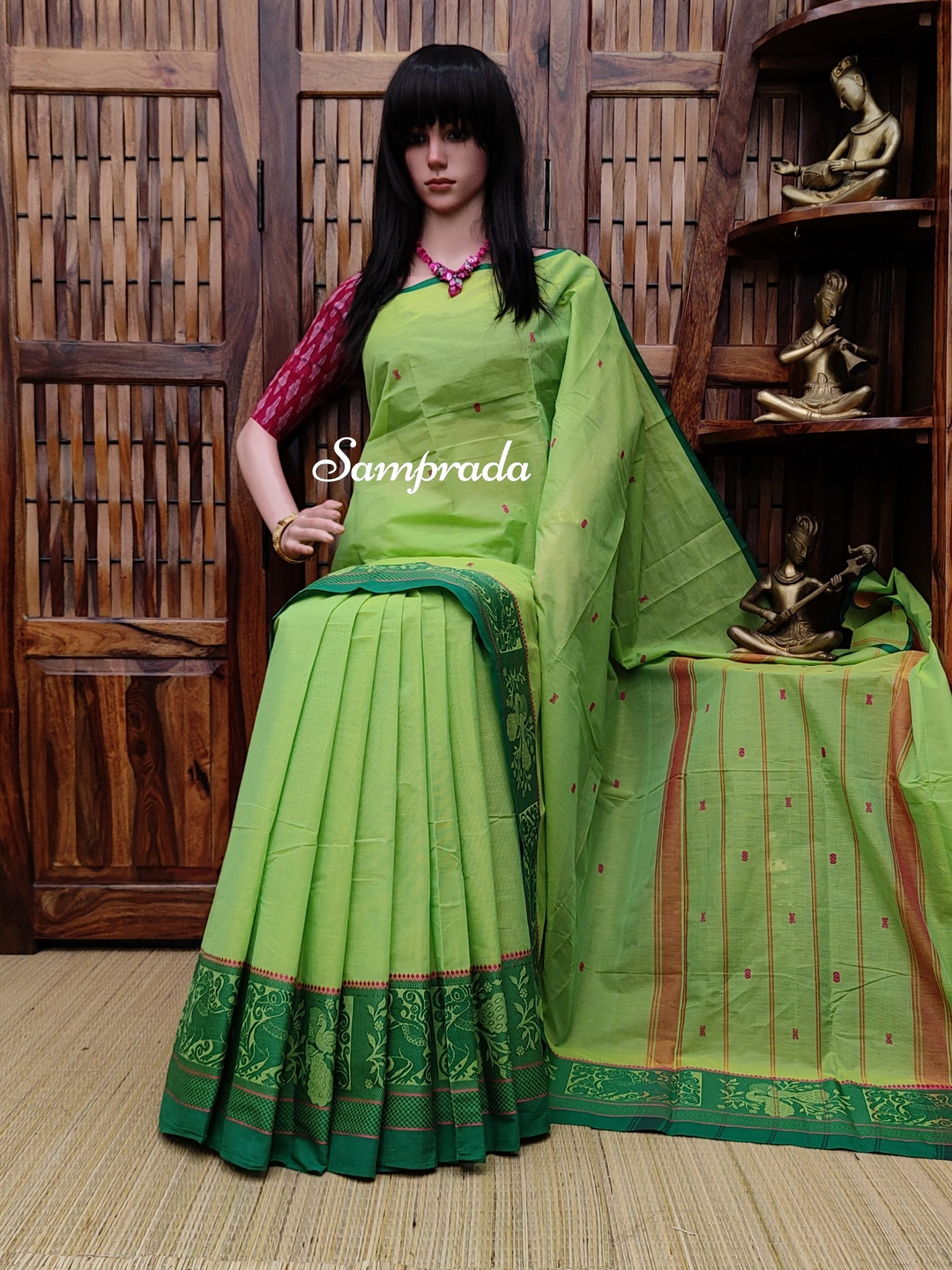 Samuditha - South Cotton Saree