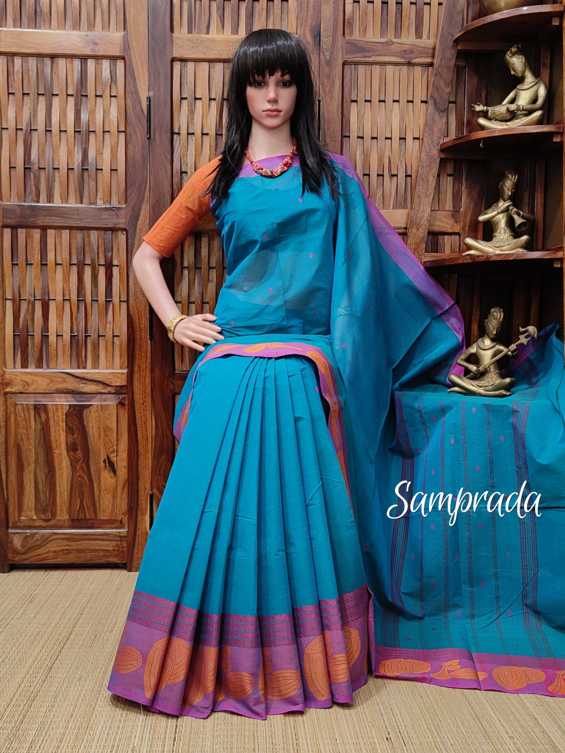 Sanghavi - South Cotton Saree