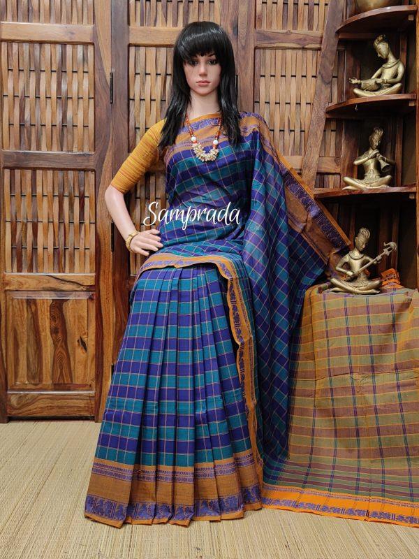 Sanjana - South Cotton Saree