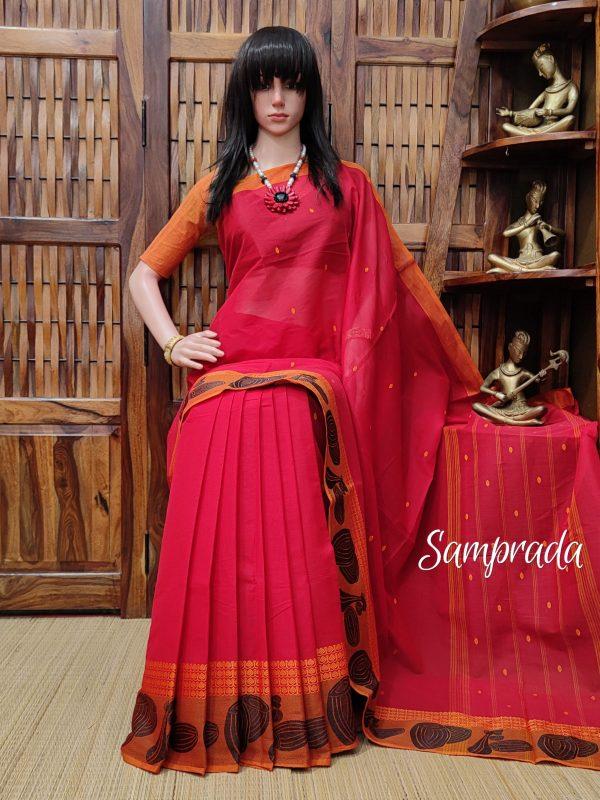 Sanjukta - South Cotton Saree