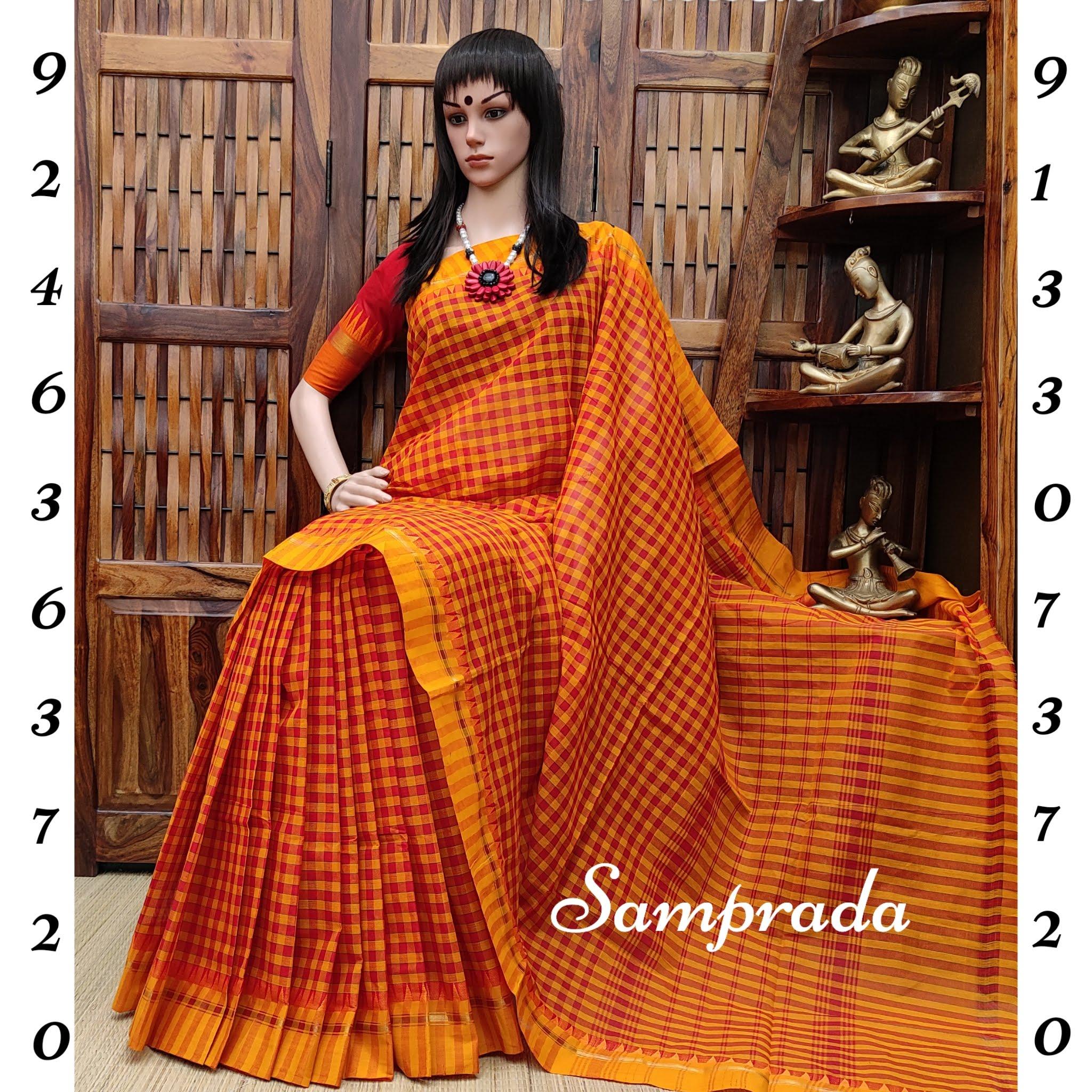 Sanyuktha - South Cotton Saree