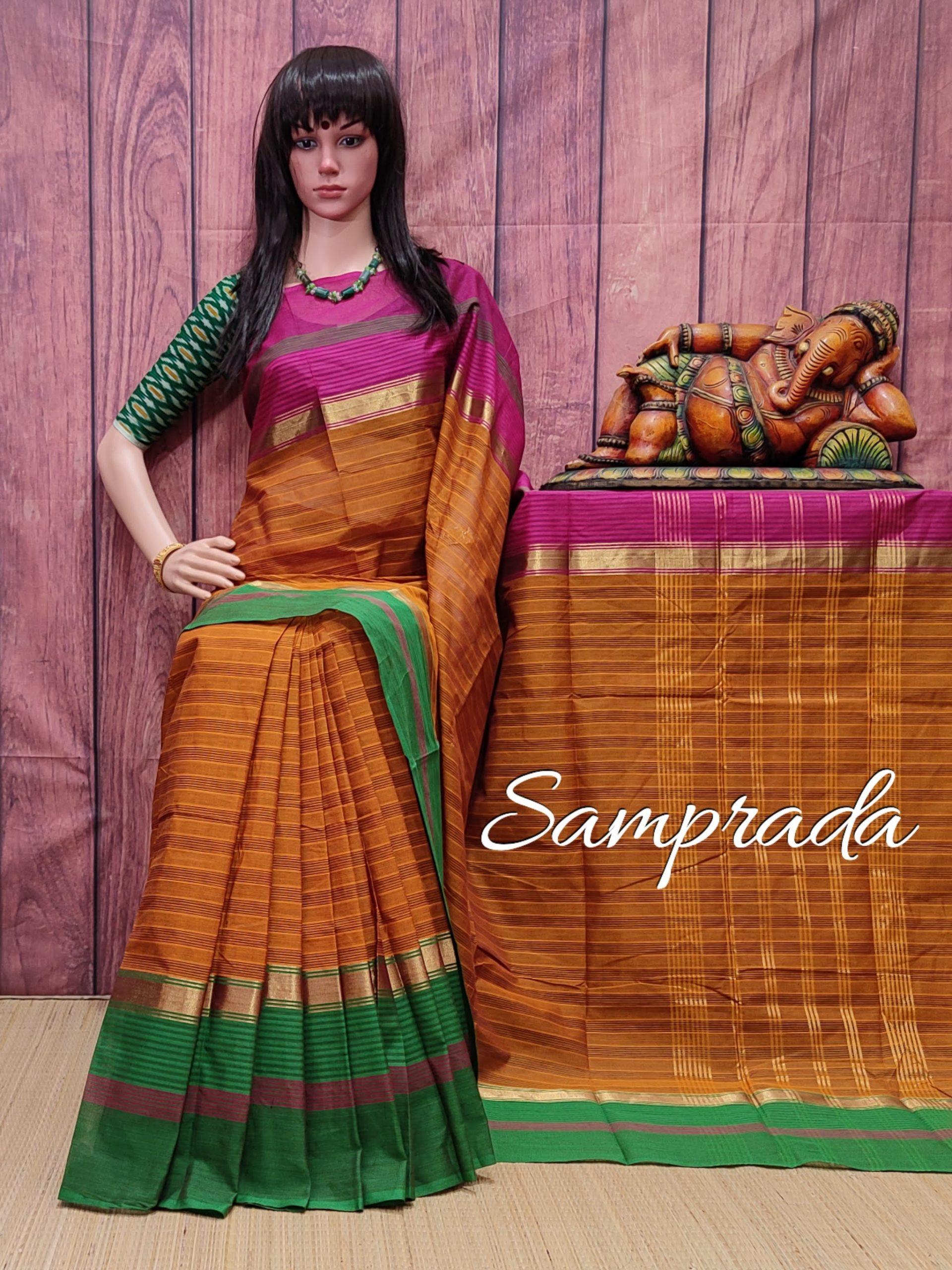 Sarasi - South Cotton Saree