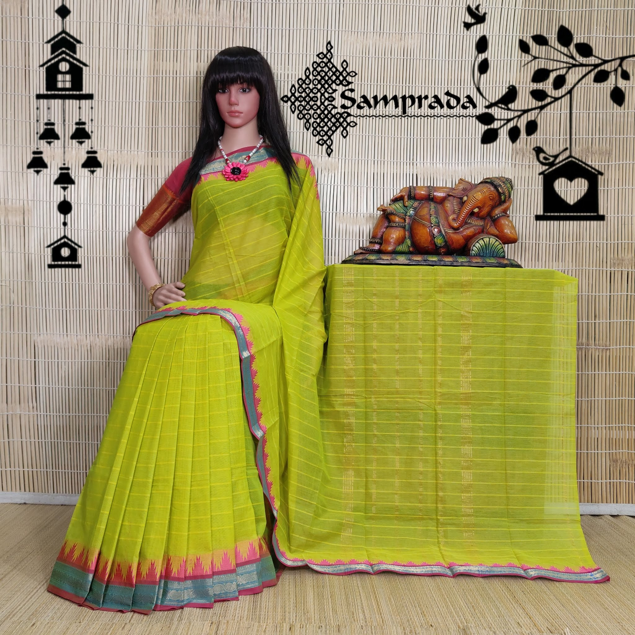 Sarasu - South Cotton Saree