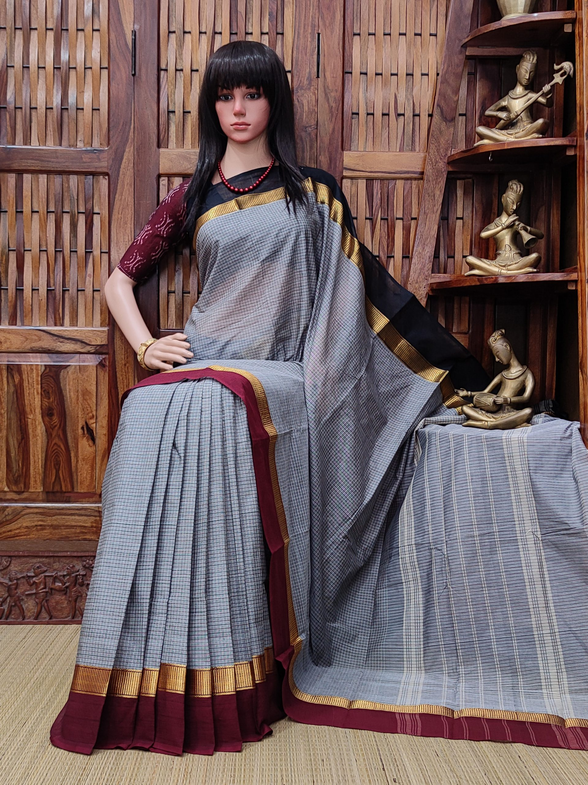 Sargam - South Cotton Saree
