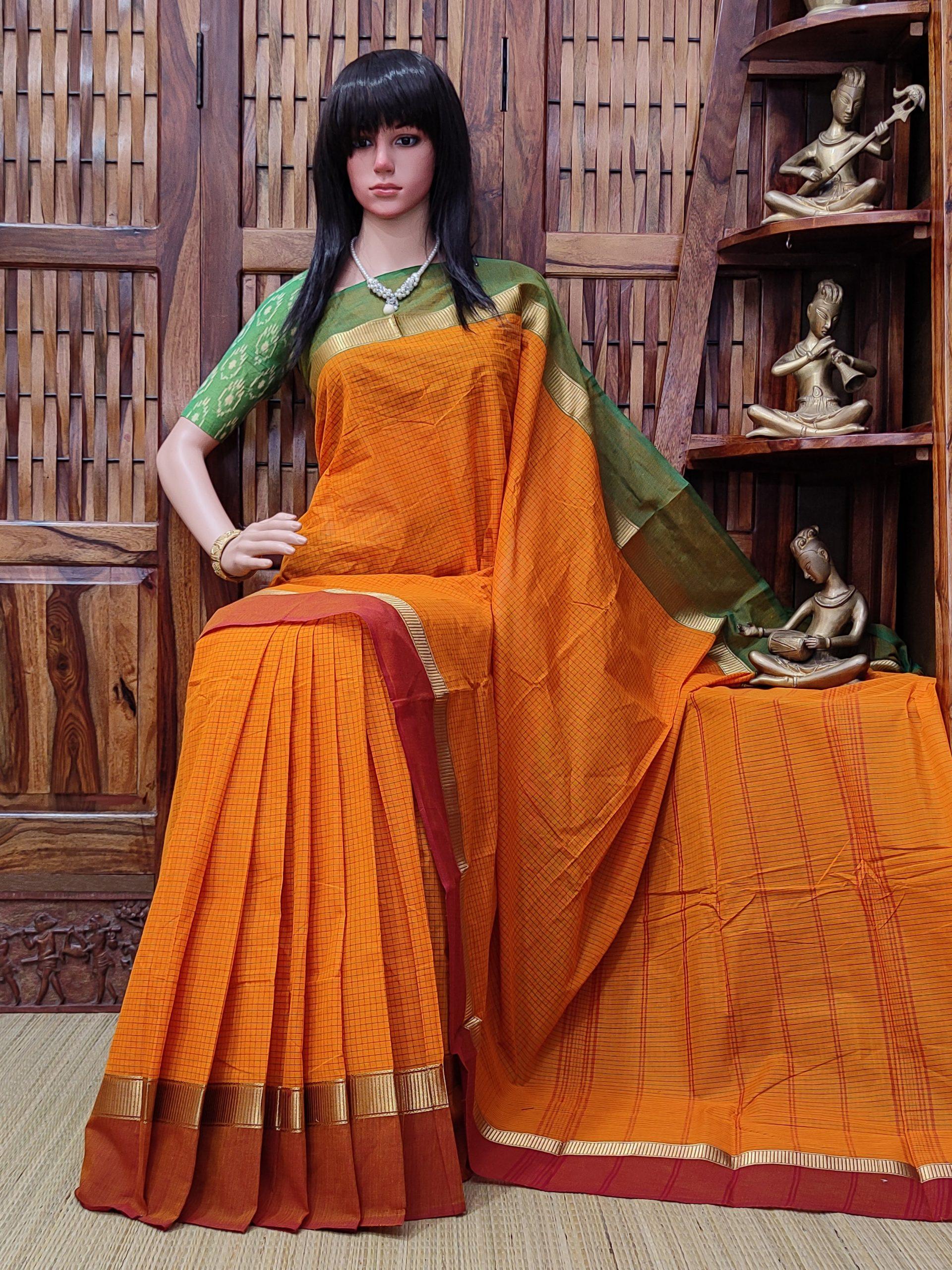 Sarhanthi - South Cotton Saree