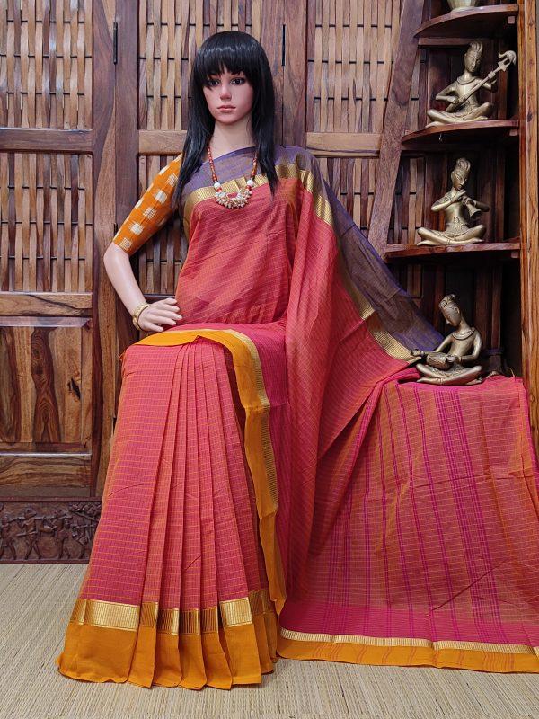 Sarisha - South Cotton Saree