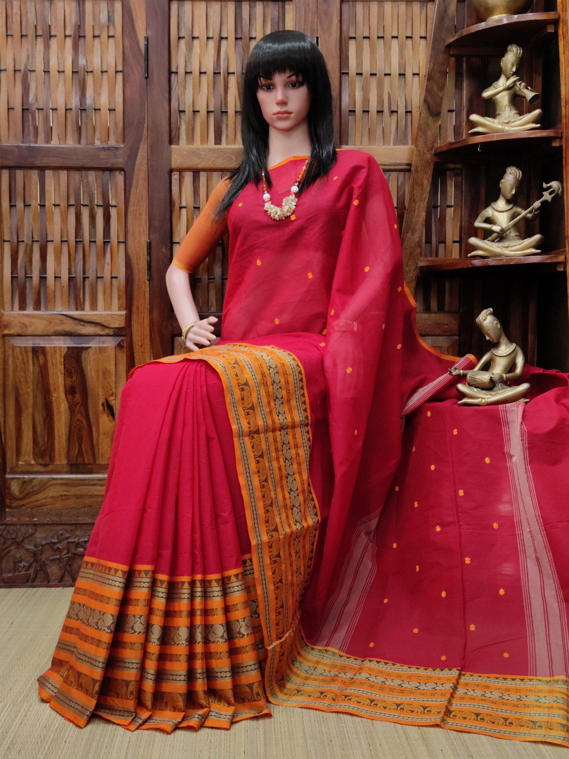 Sashii - South Cotton Saree