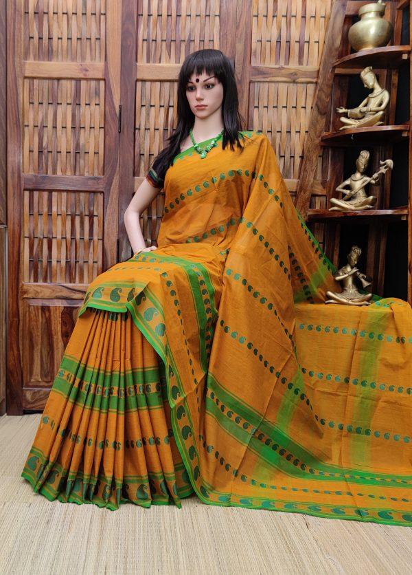 Sethulakshmi - South Cotton Saree