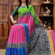 Vanshika - West Bengal Painted Cotton Saree