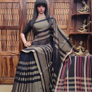 Lajjana - Pearl Cotton Saree