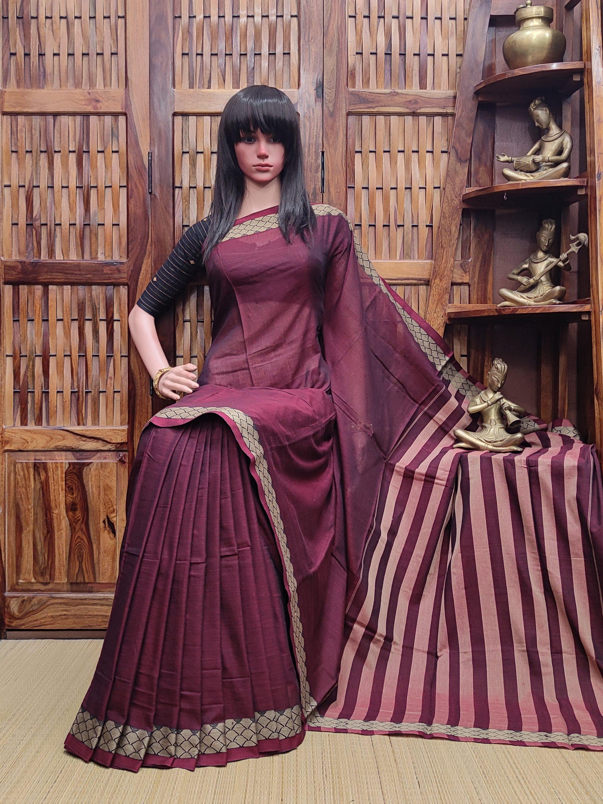 Lajvathi - Pearl Cotton Saree