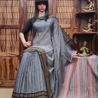 Laranya - Pearl Cotton Saree