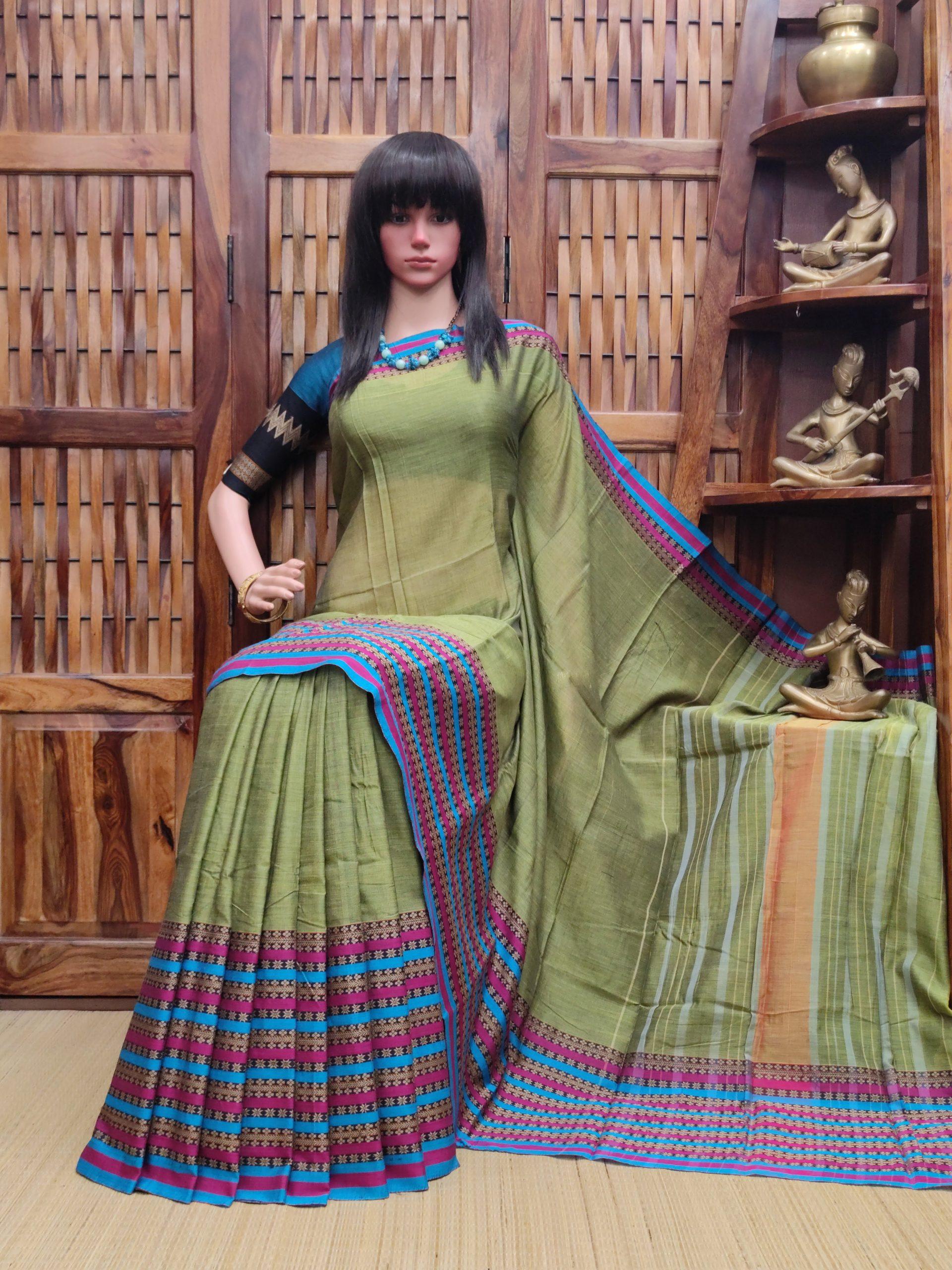 Lasusha - Pearl Cotton Saree
