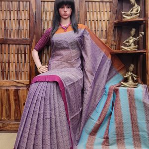 Lavanthika - Pearl Cotton Saree