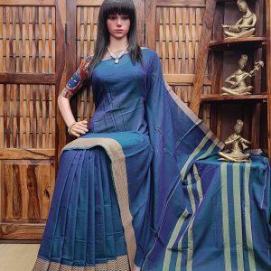 Leheri - Pearl Cotton Saree
