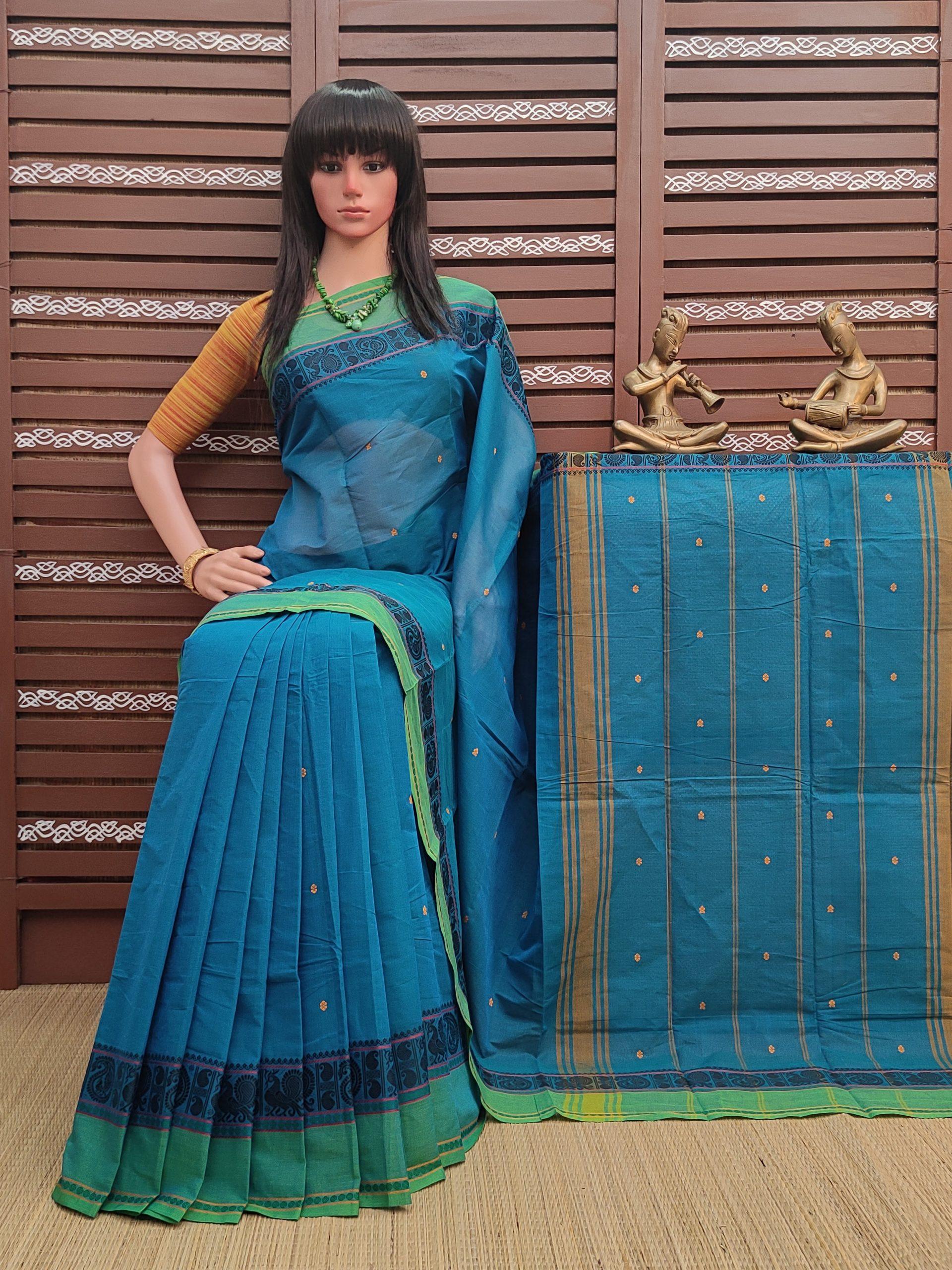 Niyatha - South Cotton Saree
