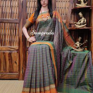 Rishvi - South Cotton Saree