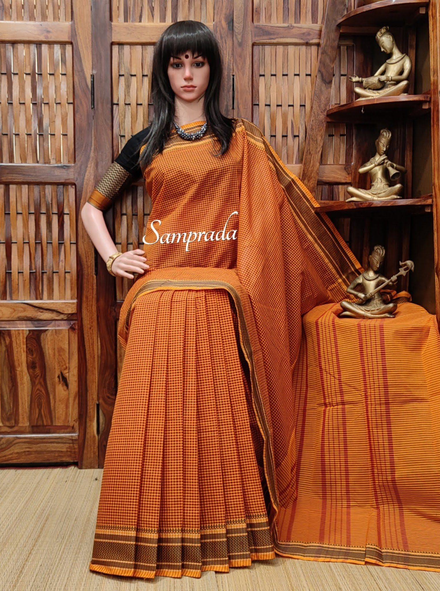 Roonhi - South Cotton Saree