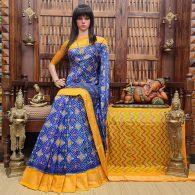 Anitha - Ikkat Silk Saree