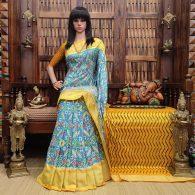 Ankitha - Ikkat Silk Saree