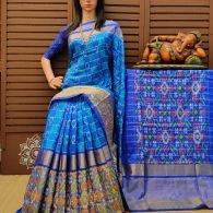 Aslesha - Ikkat Silk Saree