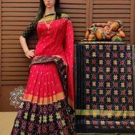 Asmitha - Ikkat Silk Saree