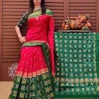 Astriti - Ikkat Silk Saree