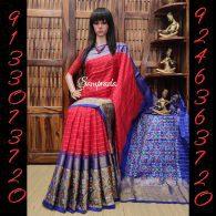 Avabha - Ikkat Silk Saree