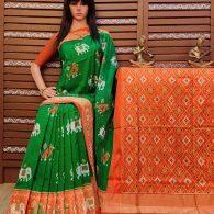 Avnitha - Ikkat Silk Saree