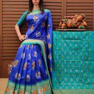 Avyuktha - Ikkat Silk Saree