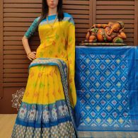 Karthika - Ikkat Silk Saree
