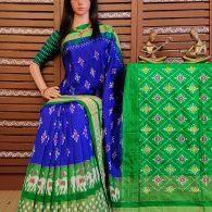 Manjula - Ikkat Silk Saree