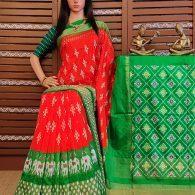 Padmaja - Ikkat Silk Saree