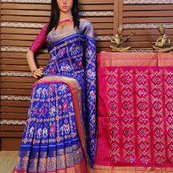 Sindhu - Ikkat Silk Saree