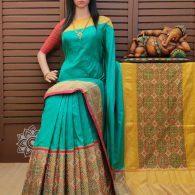 Smiritha - Ikkat Silk Saree