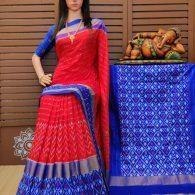 Sonali - Ikkat Silk Saree
