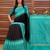 Sooryatanaya - Ikkat Silk Saree