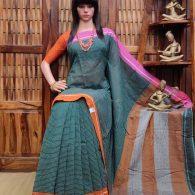 Bhakti - Patteda Cotton Saree