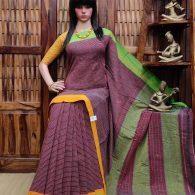 Bhaumi - Patteda Cotton Saree
