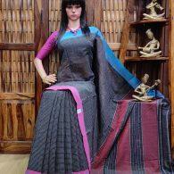 Bhooti - Patteda Cotton Saree